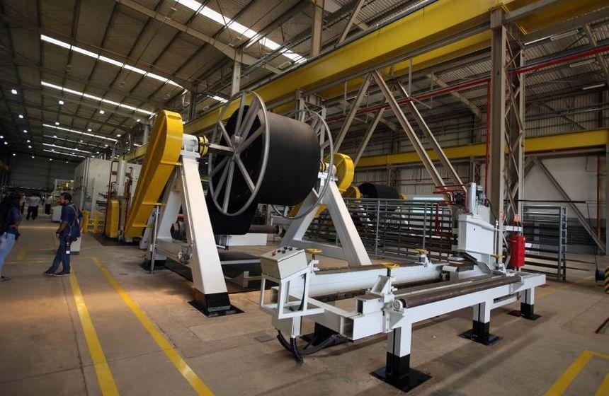 Resultado de imagem para Correias Mercúrio inaugura fábrica de correias transportadoras no Pará