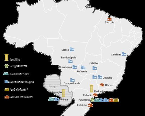Notícias de Mineração Brasil - Vale Disputa Com Mosaic E Eurochem