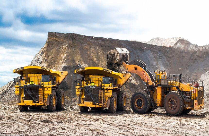 Resultado de imagem para mineracao produção de ferro
